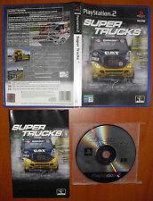 Super Trucks (Racing) PlayStation 2 PS2 PStwo Pal-España, COMPLETO Y RARO DE VER