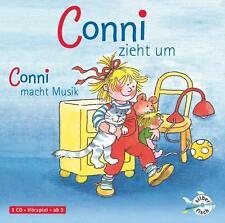 Conni zieht um / Conni macht Musik von Liane Schneider (2007)