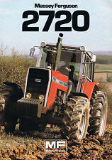 ▬► Prospectus Tracteur MASSEY FERGUSON MF 2720  Prospect Tractor Traktor