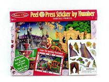 Melissa & Doug Fairytale Princess over 80 Peel & Press Sticker Art & Frame