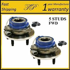 2002-2006 BUICK Rendezvous (FWD, 4W ABS) Front Wheel Hub Bearing Assembly (PAIR)