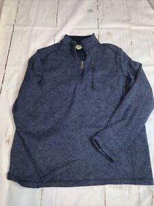 Mens Woolrich 1/4 Zip Shirt Xl