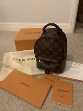Louis Vuitton Palm Springs MINI Back Pack 100% AUTENTICO