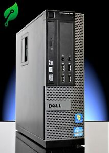 Dell Optiplex 990 SFF Intel Core i7 3.40GHz 16GB Ram 512GB SSD Window 10