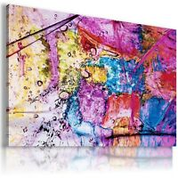 PAINTING ABSTRACT MODERN PRINT Canvas Wall Art Abstract Picture Large AB300..