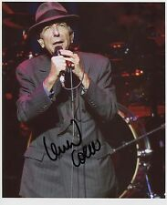 Leonard Cohen SIGNED Photo 1st Generation PRINT Ltd, No'd + Certificate /1