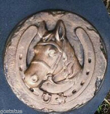 "Horse stepping stone mold  10"" x 1.5"" reusable"