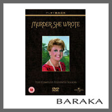 Murder, She Wrote Series Season 11 DVD Region 4 Eleventh 6-discs New & Sealed