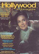 SEPT 1977 HOLLYWOOD STUDIO vintage movie magazine DOLORES DEL RIO