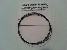 Ignition Spark Plug Wire Black 1/24 & 1/25 Models 3FT