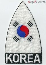 Embroidered Badge Patch Korea Korea South Fusible / Patch 1179