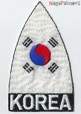 Ecusson brodé patche KOREA Corée du Sud thermocollant / patch 1179