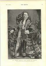 1894 Sir Joseph Renals Lord Mayor Of London Madame Recamier