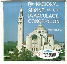 Old Sawyer's View Master THE NATIONAL SHRINE OF THE IMMACULATE CONCEPTION A795 !