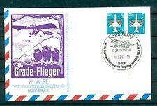 Air Mail - DDR 1987 - Bork - Bruck Flight