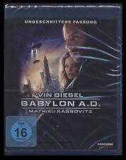 BLU-RAY BABYLON A.D. AD - UNGESCHNITTENE-FASSUNG mit VIN DIESEL *** NEU ***