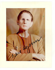 Star Trek Deep Space Nine signed 8X10 Rene Auberjonis Cheif Odo Autograph Ds9 !