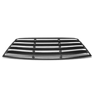 Fit 08-19 Dodge Challenger Rear Windshield Window Scoop Louver Sun Shade Cover