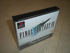 FINAL FANTASY V11 (7) PS1 PAL SOLO CUSTODIA + Inlay. nessun gioco