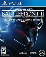 Star Wars: Battlefront II -- Elite Trooper Deluxe Edition Sony PlayStation 4 NEW