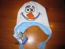 NWT Disney Frozen Olaf Peruvian HAT Size 4-16 Youth