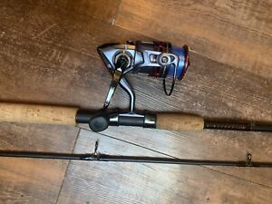 PFLUEGER PRESIDENT REEL And UGLY STICK ELITE 9' Med Hev Combo