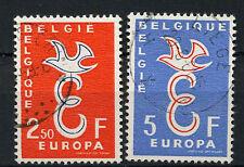 Belgium 1958 SG#1659-1660 Europa Used Set #A72697