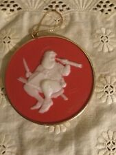 1986 The Norman Rockwell Collection Checking Up Ornament Series