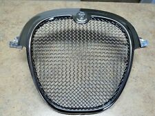 Jaguar S Type Mesh Grille CHROME SURROUND (2004 - 2007 Models) WITH BADGE