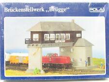 """POLA N 215 Brückenstellwerk """"Brügge"""" eingeschweißte OVP NZ383"""