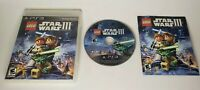 LEGO Star Wars III Clone Wars Playstation 3 PS3 Game Complete!