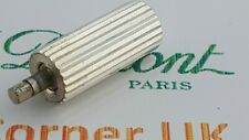 ST DuPont Lighter's Parts  line 1 Small Silver Rolling Wheel Very Good Condi YY7