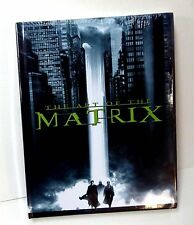 The Art of the Matrix HC New Shrinkwrapped Hard Cover Book Neo Trinity 2000