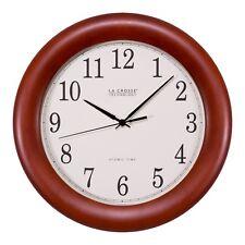 "Wt-3122A La Crosse Technology 12.5"" Atomic Analog Wall Clock - Refurbished"