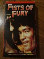 Fists Of Fury VHS 1972 Action Drama Romance Bruce Lee Nora Miao Free Shipping