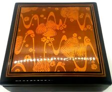 Vintage Lacquered Dresser Box Japan Collectable