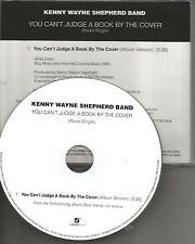 KENNY WAYNE SHEPHERD You Can't judge a book PROMO DJ CD single 2014 USA MINT