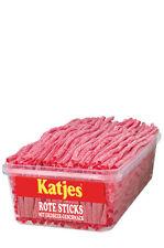 (4,33€/kg) Katjes rote Rattenschwänze / Sticks 200 Stück