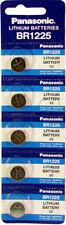 Panasonic BR1225 3V 48mAh MBU Lithium Battery Coin Cell 5pk