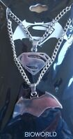 DC Comics Batman vs Superman Dawn of Justice BFF 2 Friendship Necklace Set