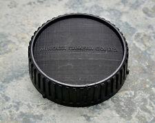 Genuine Minolta Black Rear Lens Cap SR/MC/MD Rokkor (#1386)