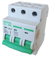 Leitungsschutzschalter GACIA SB6L 3P B16A, Sicherungsautomat MCB