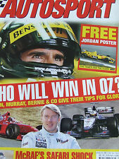 F1 RACING ITV JUN 2008 SIR FRANK WILLIAMS THE MONACO ISSUE MURRAY WALKER HAKKINE