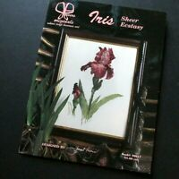 Janet Powers Originals Iris Sheer Ecstasy Cross Stitch Design Pattern Book 30017