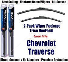2-Pack Super-Premium NeoForm Wipers fit 2018 Chevrolet Traverse - 16220/200