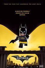 Lego Batman - original DS movie poster - 27x40 D/S 2016 Advance