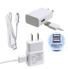 Wall + Car Charger + Micro-USB Data Charging Cable For Samsung S5 S6 edge Note 4