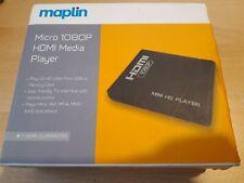 Maplin Micro 1080P HDMI Media Player with Remote - NEW
