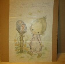 Vintage Betsey Clark For Hallmark Signed By Betsey Clark & John Floyd Drawings