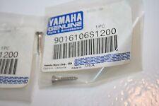 2 NOS YAMAHA SCREWS 90161-06S12 JET BOAT DECK HELM LS2000 LX210 SX210 AR230 242